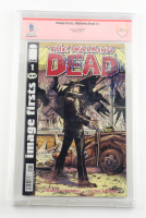 "Tony Moore Signed 2009 ""The Walking Dead"" Issue #1 Image Comic Book with Sketch (CBCS Encapsulated) at PristineAuction.com"