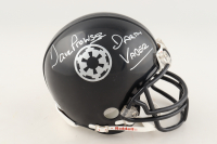 "David Prowse  Signed ""Star Wars"" Darth Vader Authentic Mini Football Helmet Inscribed ""Darth Vader"" (Beckett COA) at PristineAuction.com"