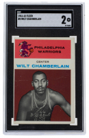 Wilt Chamberlain 1961-62 Fleer #8 RC (SGC 2) at PristineAuction.com