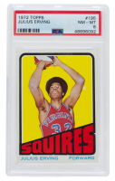 Julius Erving 1972-73 Topps #195 RC (PSA 8) at PristineAuction.com