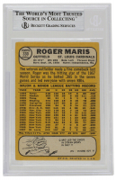 Roger Maris Signed 1968 Topps #330 (BGS Encapsulated) at PristineAuction.com
