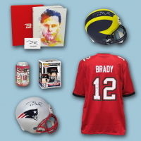 Schwartz Sports – THE BRADY BOX – Mystery Box Series 1 (Limited to 112) (12 Autograph Items per Box) Chase the TOM BRADY AUTOGRAPHS!!! at PristineAuction.com