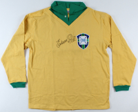 Pele Signed Team Brazil Jersey (JSA ALOA) (See Description) at PristineAuction.com