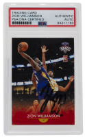 Zion Williamson Signed 2019-20 Generations Next #1 (PSA Encapsulated) at PristineAuction.com