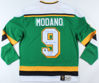 Mike Modano Signed North Stars Jersey with Multiple Inscriptions (COJO COA) at PristineAuction.com