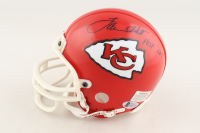 Lamar Hunt Signed Chiefs Mini-Helmet (Beckett COA) at PristineAuction.com