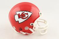 Lamar Hunt Signed Chiefs Mini-Helmet (Beckett COA) at PristineAuction.com