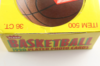 1990-91 Fleer Basketball Wax Box with (36) Packs at PristineAuction.com
