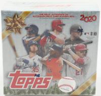 2020 Topps Holiday Baseball Mega Box with (10) Packs at PristineAuction.com
