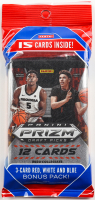2020-21 Panini Prizm Draft Picks Collegiate Basketball Cello Pack with (15) Cards at PristineAuction.com