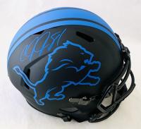 Calvin Johnson Signed Lions Full-Size Eclipse Alternate Speed Helmet (JSA COA) at PristineAuction.com