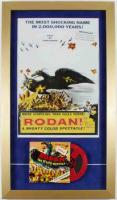 """Rodan!"" 15x26 Custom Framed Print & Super 8mm Film Display at PristineAuction.com"