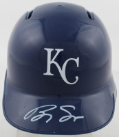 Brady Singer Signed Royals Mini Batting Helmet (JSA COA) at PristineAuction.com