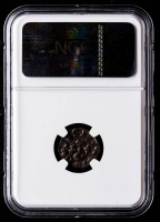 Henry III-V (1035-1125 AD) Italy, Luca Denier Medieval Silver Coin (NGC Genuine) at PristineAuction.com