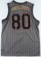 "Jeremy Bulloch Signed ""Star Wars"" Boba Fett Basketball Jersey Inscribed ""Boba Fett"" (Beckett COA) at PristineAuction.com"