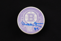 "Bobby Orr Signed Bruins ""Hockey Fights Cancer"" Commemorative Puck (Orr COA & YSMS Hologram) at PristineAuction.com"