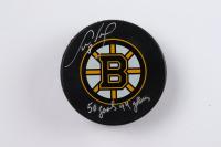 "Cam Neely Signed Bruins Logo Hockey Puck Inscribed ""50 Goals 44 Games"" (YSMS Hologram) at PristineAuction.com"