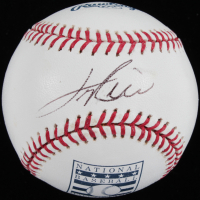 Jim Rice Signed OML Hall of Fame Baseball (JSA COA) at PristineAuction.com