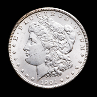 1901-O Morgan Silver Dollar at PristineAuction.com
