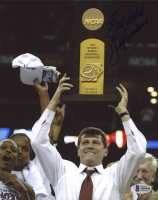 Geno Auriemma Signed UConn Huskies 8x10 Photo (Beckett COA) at PristineAuction.com