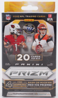 2020 Panini Prizm Football Hanger Box with (20) Cards (See Description) at PristineAuction.com