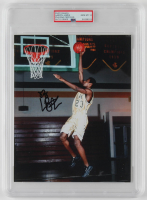 LeBron James Signed 8x10 Photo (PSA Encapsulated) at PristineAuction.com