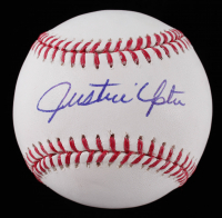 Justin Upton Signed OML Baseball (JSA COA) at PristineAuction.com