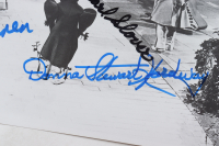 """""""The Wizard of Oz"""" 11x14.5 Photo Cast-Signed by (4) with Karl Slover, Mickey Carroll, Jerry Maren, & Donna Stewart-Hardway (JSA COA) at PristineAuction.com"""