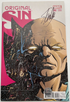 "Stan Lee Signed 2014 ""Original Sin"" Issue #0 Paolo Rivera Variant Marvel Comic Book (Lee COA) at PristineAuction.com"