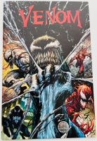 "Stan Lee Signed 2017 ""Venom"" Issue #3 Tyler Kirkham Variant Marvel Comic Book (Lee COA) at PristineAuction.com"
