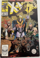 "Stan Lee Signed 1989 ""Uncanny X-Men"" Issue #252 Marvel Comic Book (Lee COA) at PristineAuction.com"