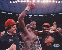 "James ""Buster"" Douglas Signed 8x10 Photo Inscribed ""All The Best"" (Beckett COA) at PristineAuction.com"