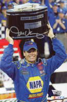 Michael Waltrip Signed NASCAR 2003 Daytona 500 Winner 6x9 Print (Fanatics Hologram) at PristineAuction.com