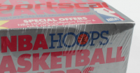 1989-90 NBA Hoops Basketball Card Box with (36) Wax Packs (See Description) at PristineAuction.com