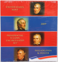 2009 United States Mint Presidential $1 Dollar Coin Proof Set with (8) Coins at PristineAuction.com