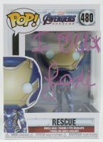 "Lexi Rabe Signed ""Avengers: Endgame"" #480 Rescue Funko Pop! Vinyl Figure with Inscription (JSA COA) at PristineAuction.com"