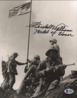 "Hershel Williams Signed 8x10 Photo Inscribed ""Medal of Honor"" (Beckett COA) at PristineAuction.com"