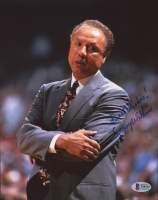 "Lenny Wilkens Signed SuperSonics 8x10 Photo Inscribed ""Best Wishes!"" (Beckett COA) at PristineAuction.com"