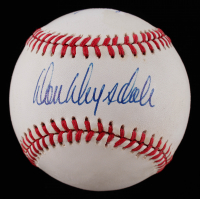 Don Drysdale & Sandy Koufax Signed ONL Baseball (PSA Hologram) at PristineAuction.com