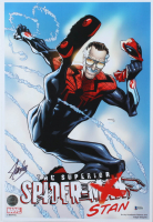 "Stan Lee Signed ""The Superior Spider-Stan"" 13x19 Photo (Beckett COA & Lee Hologram) at PristineAuction.com"