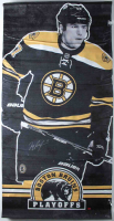 Milan Lucic Signed Bruins Stanley Cup Playoffs 30x60 Custom Vinyl Street Banner (Lucic COA) (See Description) at PristineAuction.com