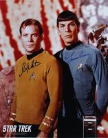 "William Shatner & Leonard Nimoy Signed ""Star Trek"" 16x20 Photo (JSA COA) at PristineAuction.com"