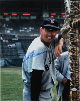 Ted Williams Signed Red Sox 16x20 Photo (PSA LOA & Ted Williams Hologram) at PristineAuction.com