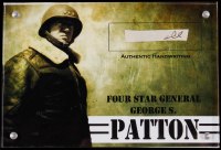 George S. Patton Authentic Hand-Written Word Cut in Acrylic Display Case (JSA LOA) at PristineAuction.com