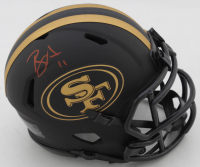 Brandon Aiyuk Signed 49ers Eclipse Alternate Speed Mini Helmet (JSA COA) at PristineAuction.com
