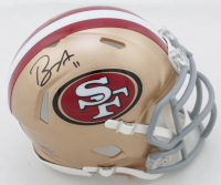 Brandon Aiyuk Signed 49ers Speed Mini Helmet (JSA COA) at PristineAuction.com