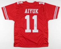 Brandon Aiyuk Signed Jersey (JSA COA) at PristineAuction.com