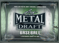 2020 Leaf Metal Draft Baseball Hobby Box of (6) Cards at PristineAuction.com