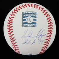 "Nolan Ryan Signed OML Hall of Fame Logo Baseball Inscribed ""H.O.F. '99"" (PSA COA) at PristineAuction.com"