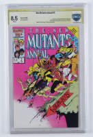 "Stan Lee Signed 1986 ""The New Mutants Annual"" Vol. 1 Issue #2 Marvel Comic Book (CBCS 8.5) at PristineAuction.com"